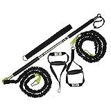 BodyCROSS Premium Rip Trainer | Studioqualität | Made in Germany (24 kg Zugkraft | 2 Tubes)