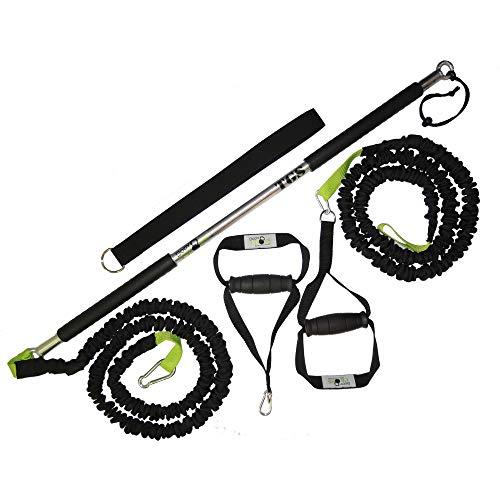 BodyCROSS Premium Rip Trainer   Studioqualität   Made in Germany (24 kg Zugkraft   2 Tubes)