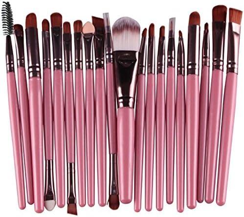 5 ☆ popular Bxzhiri 20 pcs Makeup Brush Set Make-up Toiletry Wool Kit Max 89% OFF Tools
