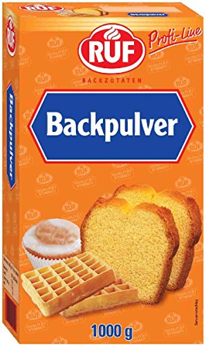 Ruf Backpulver 1 kg, 2er Pack (2 x 1 kg)
