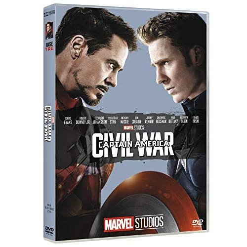 Captain America Civil War 10° Anniversario Marvel Studios (DVD)