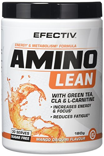 Efectiv Sports Nutrition Amino Lean Shakes, 180 g, Mango Daiquiri