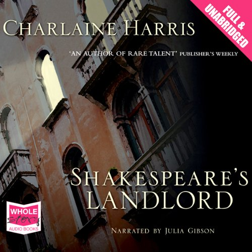 Shakespeare's Landlord audiobook cover art