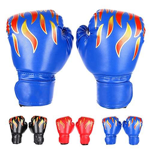 FUMEI Guantes de Boxeo para Niños para Sparring, Saco de Boxeo, Muay Thai y Kick Boxing, MMA, 6oz