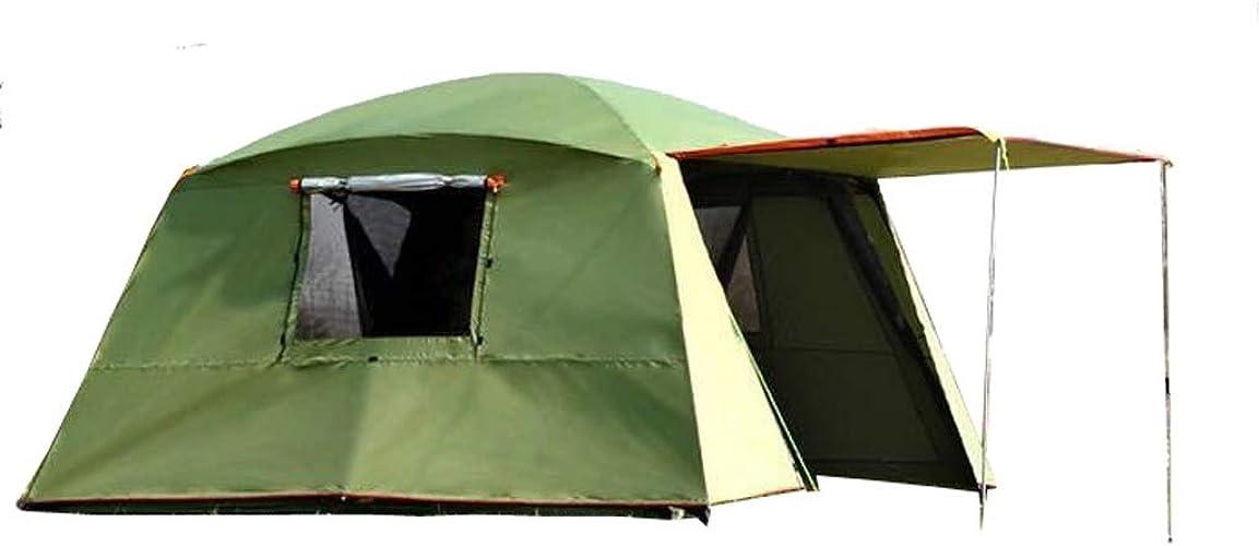 DD étanche Double Couche Soleil extérieur 4 Coins Jardin Arbor Tente de Camping Parti multijoueur auvent auvent du Soleil (Couleur   vert)
