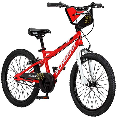 Schwinn Koen Boys Bike for Toddlers and Kids, 20-Inch Wheels, Red