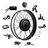 EBIKELING 48V 1200W 26' Fat Direct Drive Waterproof Electric Bike Kit - Ebike Conversion Kit - Electric Bike Conversion Kit (Rear/LCD/Twist)