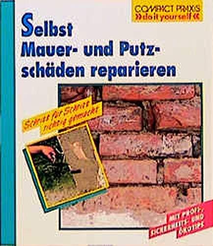Selbst Mauer- und Putzschäden reparieren: Schritt für Schritt richtig gemacht. Mit Profi-, Sicherheits- und Ökotips (Compact-Praxis