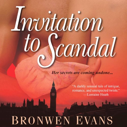 Invitation to Scandal audiobook cover art