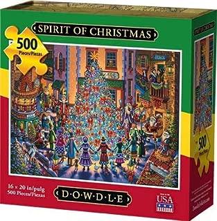 Dowdle Jigsaw Puzzle - Spirit of Christmas - 500 Piece