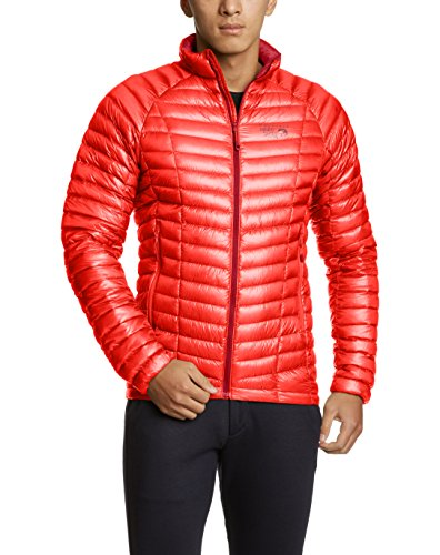 Mountain Hardwear Ghost Whisperer Jacket - Men's Cherrybomb Large