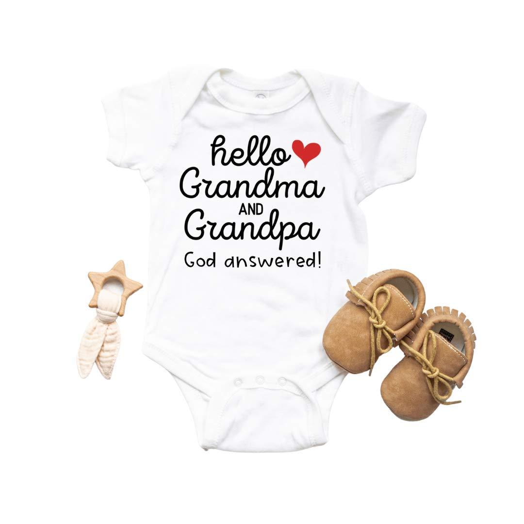 Hello In stock Grandma and Grandpa Baby Surprise Max 90% OFF Chri Gifts. Announcement