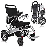 Vive Electric Wheelchair - Power Transport Chair - Lightweight, Foldable, Heavy...