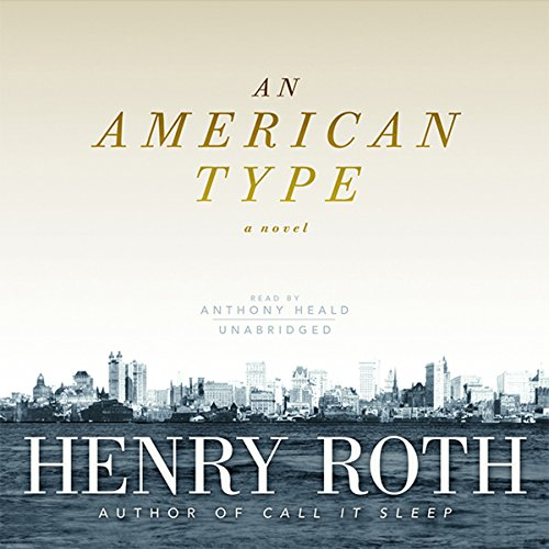 An American Type audiobook cover art