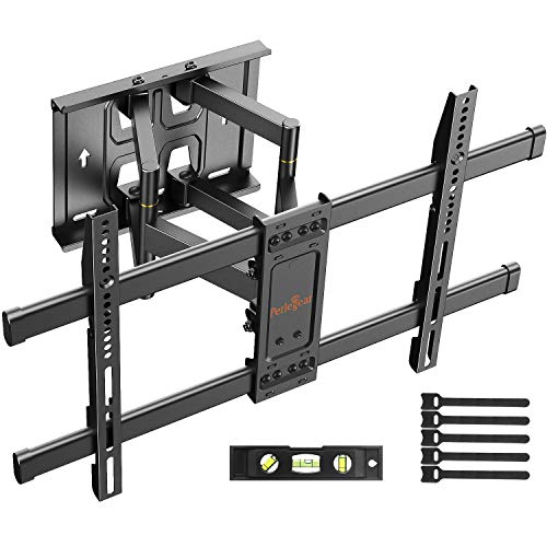 "Perlegear Soporte TV Pared Articulado Inclinable Y Giratorio – Soporte De TV para Pantallas De 37-70"" TV – MAX VESA 600x400mm, para Soportar 60kg"