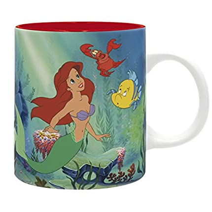 ABYstyle - DISNEY - La Sirenita - Taza - 320 ml - Under The Sea