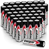 Energizer Max AA Batteries (44 Count), Double A Alkaline Batteries (Items May Ship Separately)