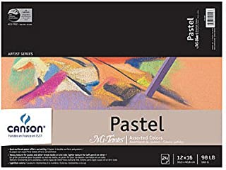 Canson Mi-Teintes Pastel Assorted Pad (12 In. x 16 In.) 1 pcs sku# 1830888MA