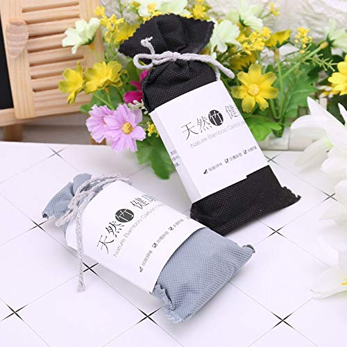 XKMY Air Purifying Bag Car Home Odor Absorber Bamboo Charcoal Activated Carbon Air Freshener Deodorant