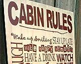 by Unbranded Reglas de cabina de alces – se pueden personalizar – Ideal para papá