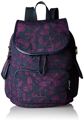Kipling - City Pack S, Mochilas Mujer, Mehrfarbig (Orchid Bloom), 27x33.5x19 cm (B x H T)