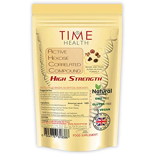 Aktive Hexosekorrelierte Verbindung 600 mg - Sehr starke (60 Kapseln)