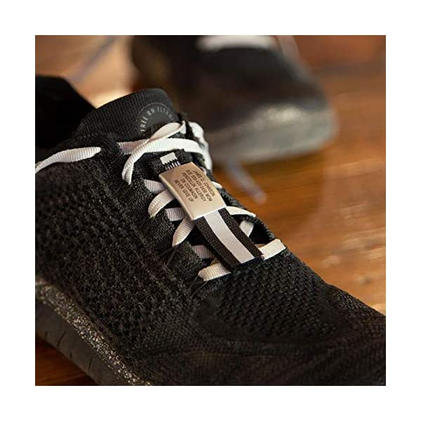 Road ID Premium Shoe Tag – The Shoe ID – 19mm Wide – for Athletes