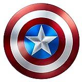 キャプテンアメリカ 盾 シールド 75周年 Hasbro(ハズブロ) 金属製 [並行輸入品]