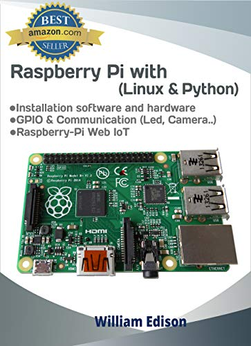 Linux & Python for Raspberry Pi : Getting started with Linux & Python Front Cover