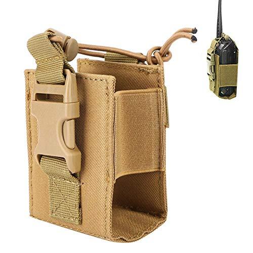 Tbest Pochette de Smartphone Tactique, Portable Tactique Militaire Talkie-walkie Sac Pochette Radio Porte Cas pour Les Sports de Plein Air