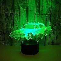 ナイトライト、ナイトランプ、車3D LighingデコレーションフレンズギフトLed Usb For Kidsギフト子供の寝室