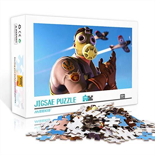 1000 Piezas de Rompecabezas para Adultos Juegos de Rompecabezas Fortnite Classic Puzzle Desafiante Juego de Rompecabezas, Gran opción de Regalo 75X50cm