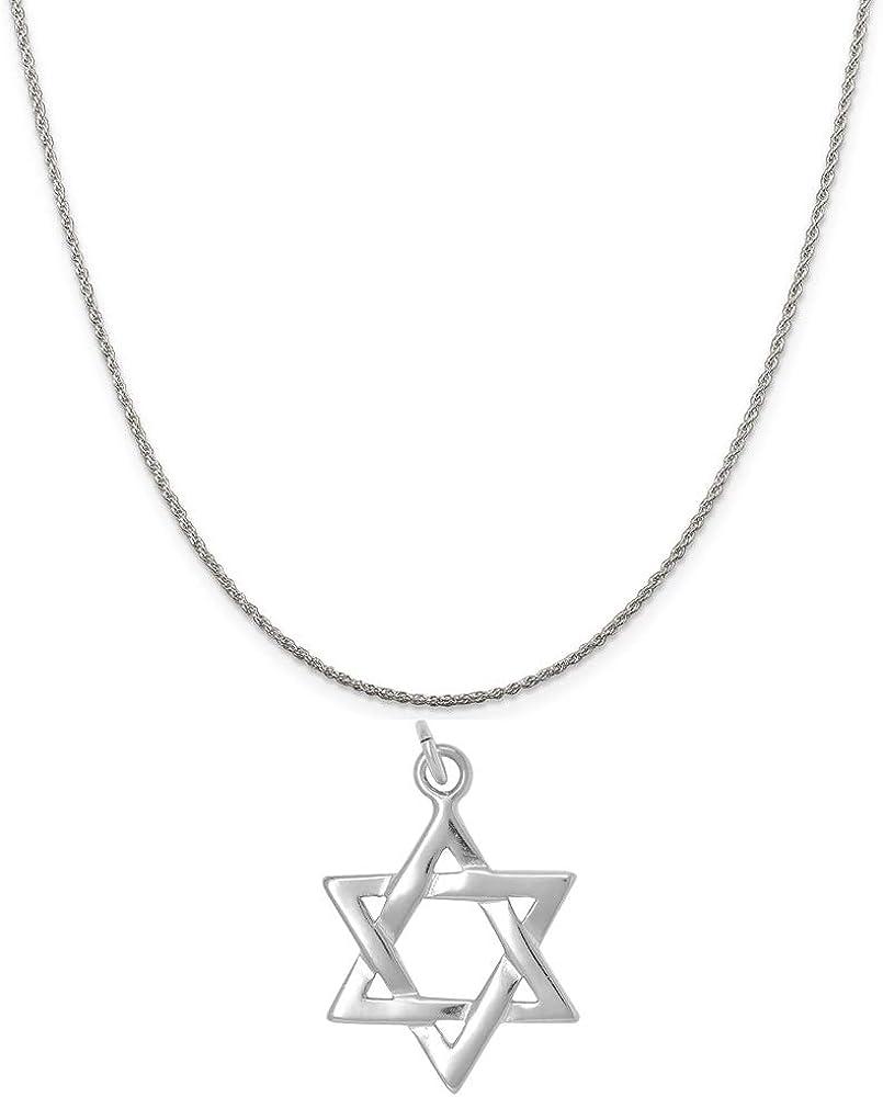 Raposa Elegance Sterling Silver 1 year warranty Portland Mall Star of Sterlin David on Charm a