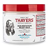Thayer Medicated Astringent Pads Superhazel with Aloe Vera 60 Pad(s)