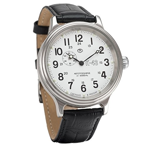 Vostok Retro Kirovskie K-43 WWII - Reloj de pulsera para hombre, estilo...