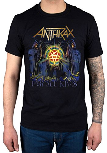 Official Anthrax for All Kings Cover T-Shirt
