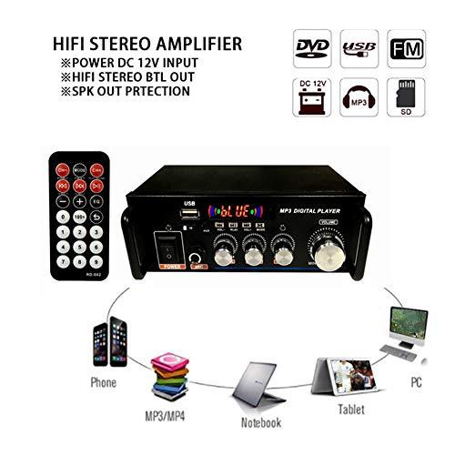 Startseite Verstärker HiFi Subwoofer Heimkino-Sound-System Audio Auto Verstärker FM TF AUX MP3-Player-Fernbedienung