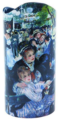 Dartington John Beswick Renoir Moulin De La Galette Keramik-Vase, Höhe: 22 cm, Durchmesser: 10 cm, Parastone SDA030