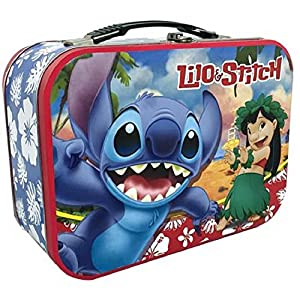 Westland Giftware Lilo and Stitch Lunch Box Tin Tote