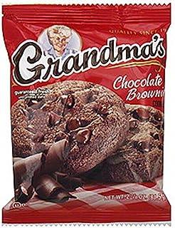 Grandma's Cookies - Chocolate Brownie (2 1/2 oz.) (2 Cookies) (5 Packs, 10 Cookies Total)