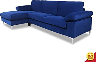 Best tufted sectional sleeper sofa Reviews