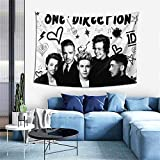 GIPHOJO Tapestry 1-D One Di-rec-Tion Hippie Tapestries Wall Art Hanging Decor for Bed Living Room Dorm Home Apartment Office Throw Blanket 60x40 inches