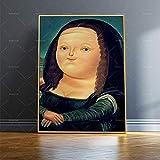KWzEQ Imprimir en Lienzo Cute Little Girl modernposter y decoración para Sala de estar45x60cmPintura sin Marco