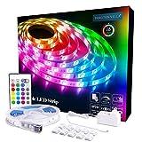 Best Strip Lights - LED Strip Lights 16.4ft, RGB 5050 LEDs Color Review