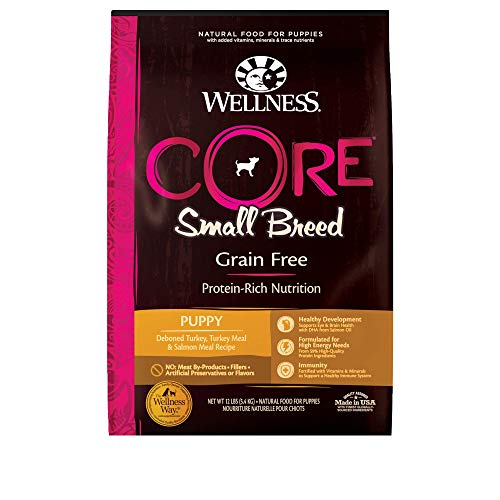 Wellness Core Natural Grain Free Dry Puppy Food, Small Breed Puppy, 12-Pound Bag