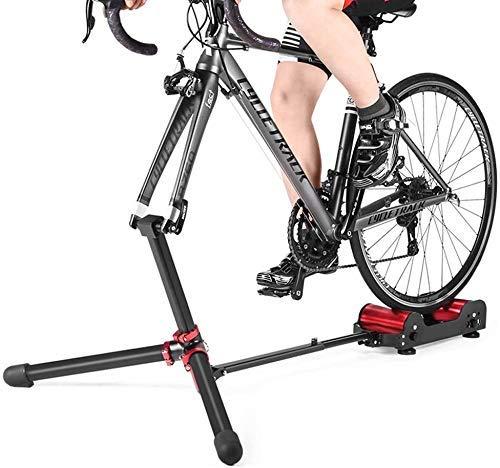 ZHANGYY Resistencia de Rodillo de Bicicleta de Ciclismo Interior, Soporte de Bicicleta Plegable, estación de Ejercicio de Bicicleta de Carretera MTB, Adecuado para Bicicleta de montaña de