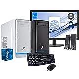 Pc desktop INTEL 4,10Ghz,Ram 16 Gb Ddr4, Ssd 480 Gb, Hdd 1 TB,Lettore masterizzatore,Windows 10 Pro,Computer fisso,assemblato,completo Monitor 22' fhd con accessori Desktop ssd,Pc fisso