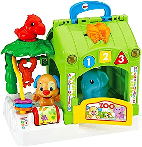 Fisher Price Laugh & Learn Smart Stages Activity Zoo Gift Set