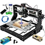 VEVOR CNC Machine 300×180×45mm CNC 3018 Pro 5500mW CNC 3018-PRO Router Kit 3 Axis GRBL Control With Offline Controller for Carving Milling Plastic Acrylic PVC Wood