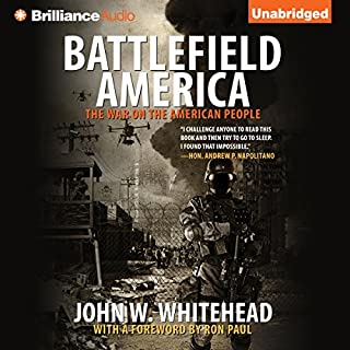 Battlefield America audiobook cover art
